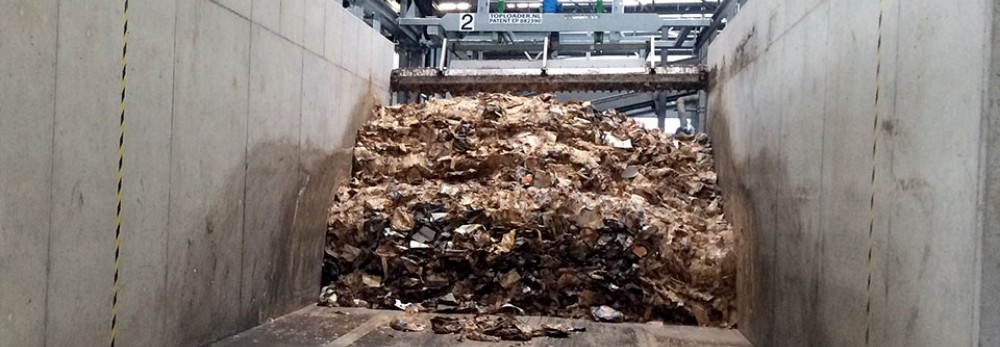Equipment for receiving Bulky Materials & Waste Processing