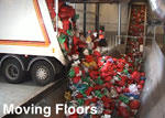 Spiro-moving floor used in Municipal Waste site