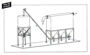 Dust collection and Discharge diagram