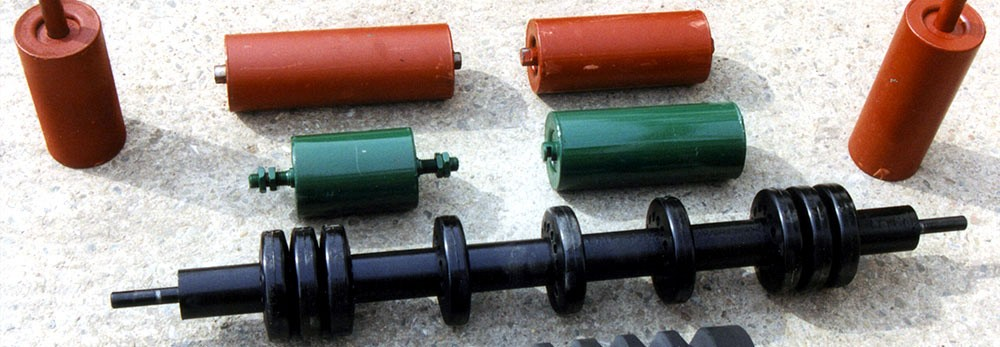 Belt Conveyor Rollers / Idlers and Drums